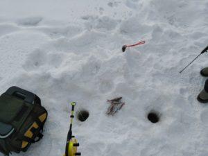Les bons plans peche sur glace à rovaniemi pêche blanche
