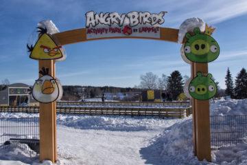Park angry birds rovaniemi