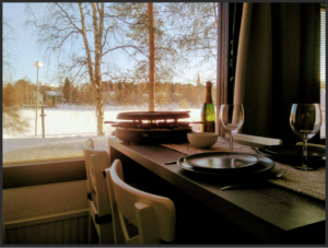 Apartment with sauna by the lake Rovaniemi