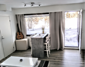 Sauna dans appartement à Rovaniemi