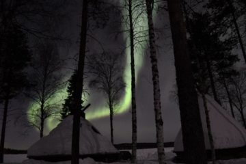 aurore boréale rovaniemi
