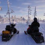safari motoneige a Rovaniemi